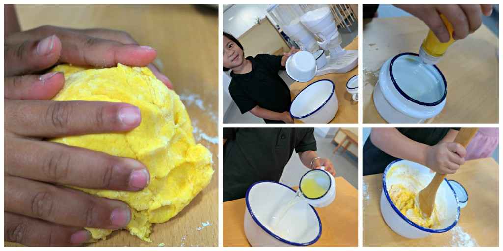 yellow dough